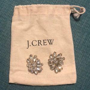 J.Crew Rhinestone Earrings